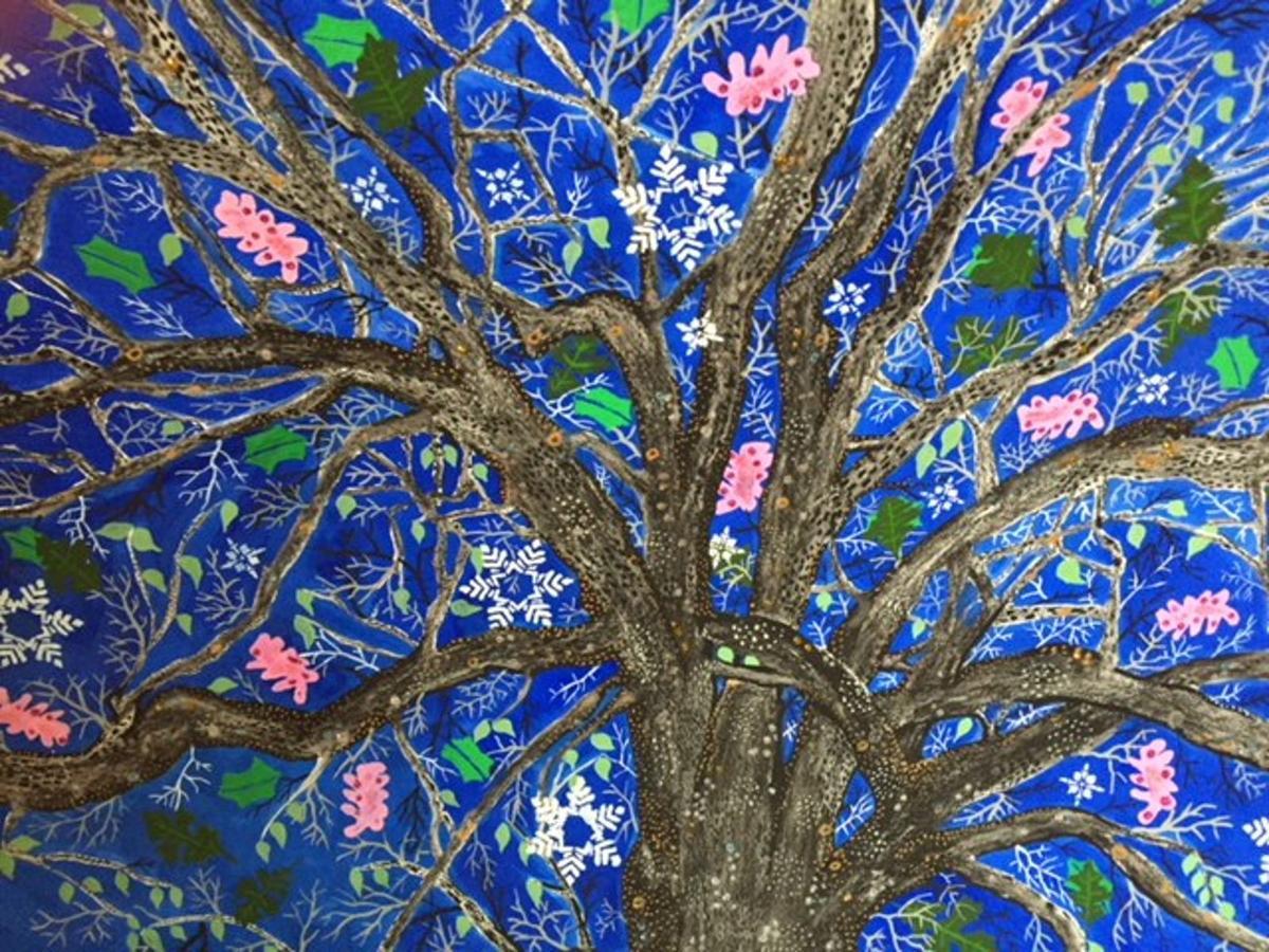 Basking Ridge Great Oak Artwork