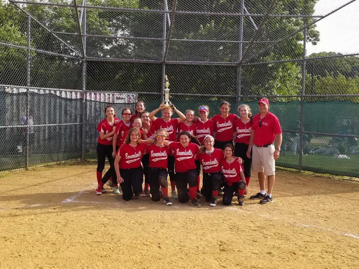 Bernardsville Middle School softball