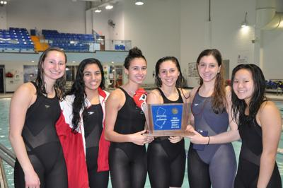 Bernards girls swim