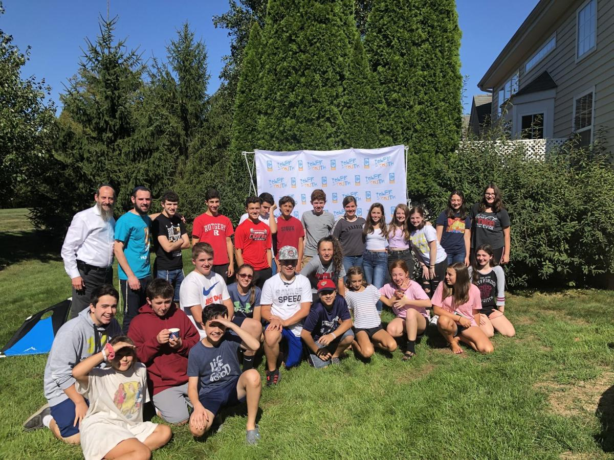 Chabad of Hunterdon CTeen Youth Group holds Ice Cream Kickoff event