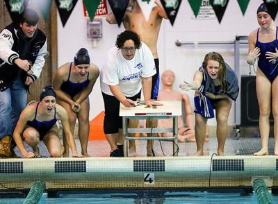 Gill girls swim