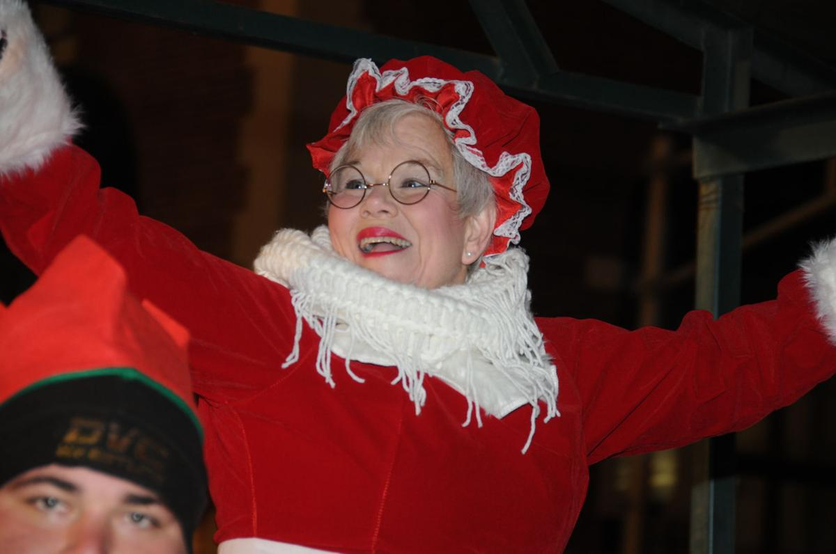HERE COMES MRS. CLAUS