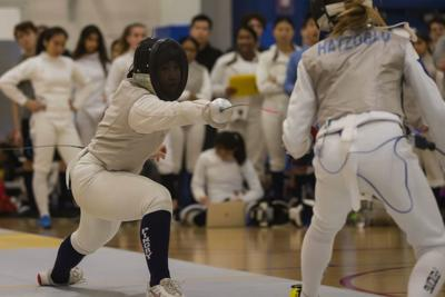 Pingry girls fencing
