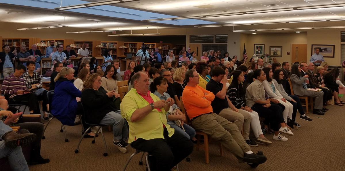 Dozens of parents attend Watchung Hills Board meeting