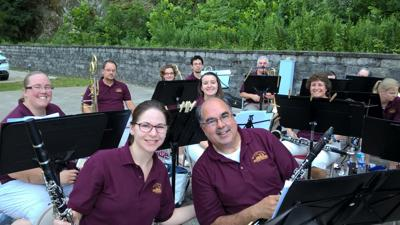 Whitehouse Wind Symphony presents free outdoor concerts in Whitehouse, Clinton