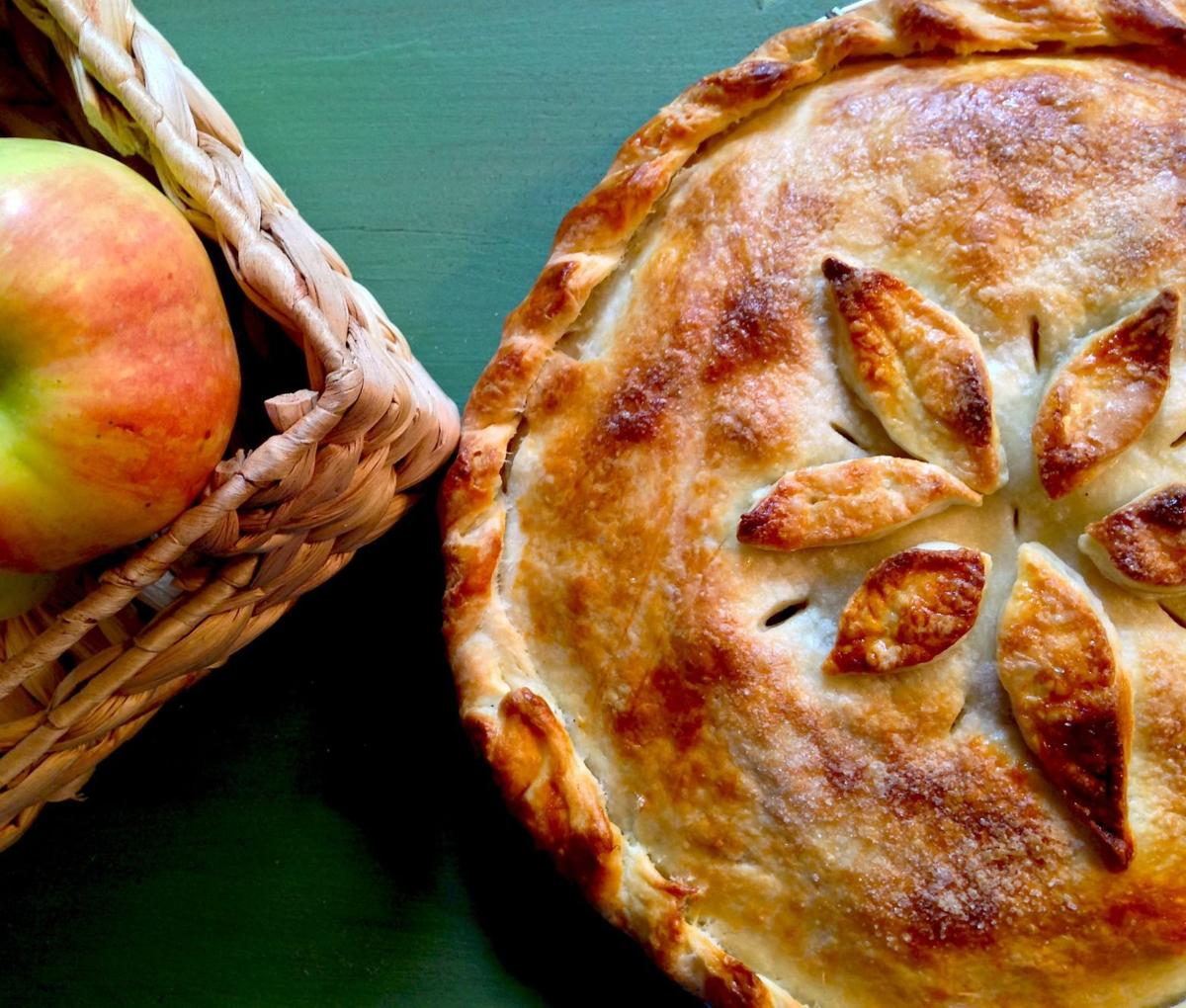 FRESH OFF THE FARM: Country Apple Galettes by Claire Nines