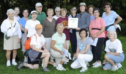 Rose City Steppers to enjoy invigorating fall walk Oct. 11