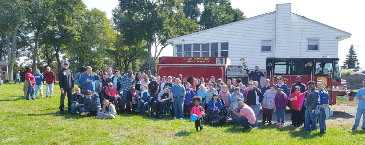 Stirling Elks host annual picnic for group home residents