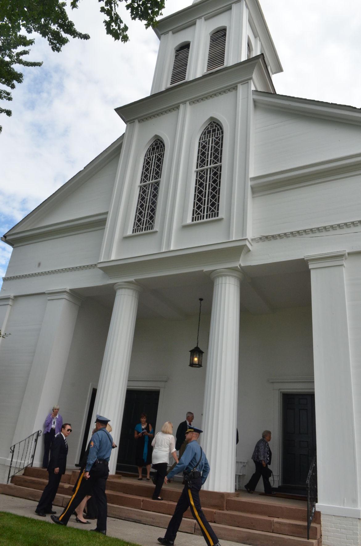 John Whitman Funeral