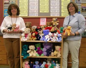 Teddy bear collection