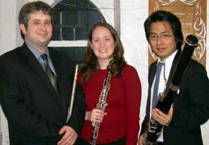 City Winds Trio will perform at library