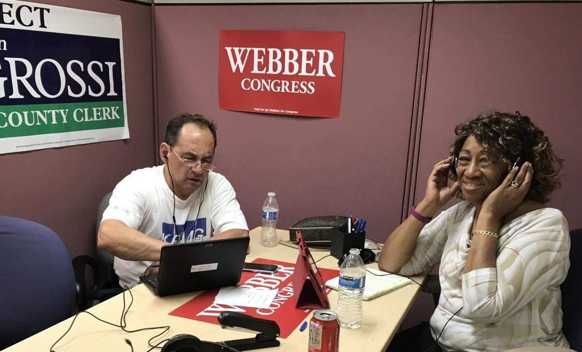Calling voters