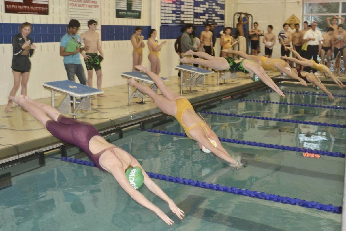 Ridge swimming