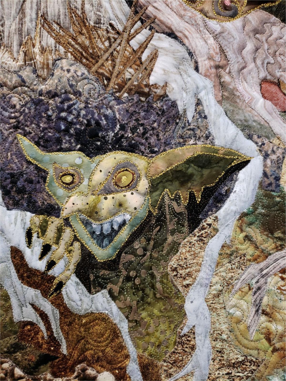 Tree Trolls closeup