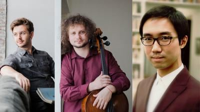 Trio Solace to perform benefit concert on Sunday, Oct. 17