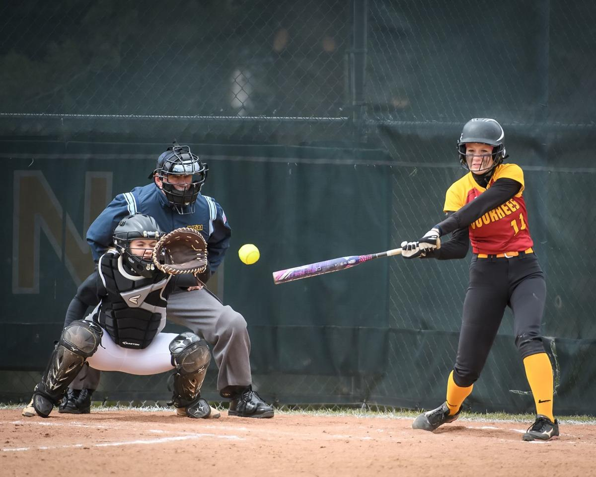 Lady Lions shut out Lady Vikings in girls softball