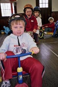 Trike-a-thon in Tewksbury raises money for worthy cause