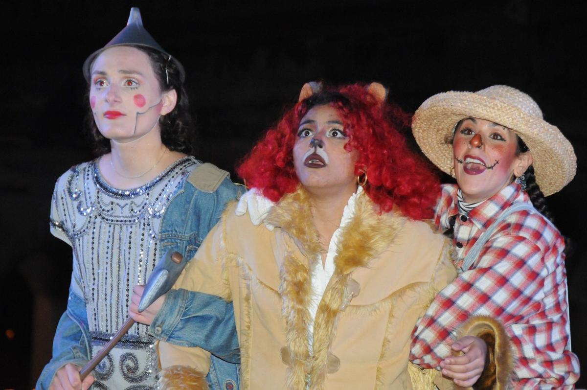 Tin Man, Lion & Scarecrow