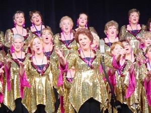 Hickory Tree Chorus wins gold at April singing competition