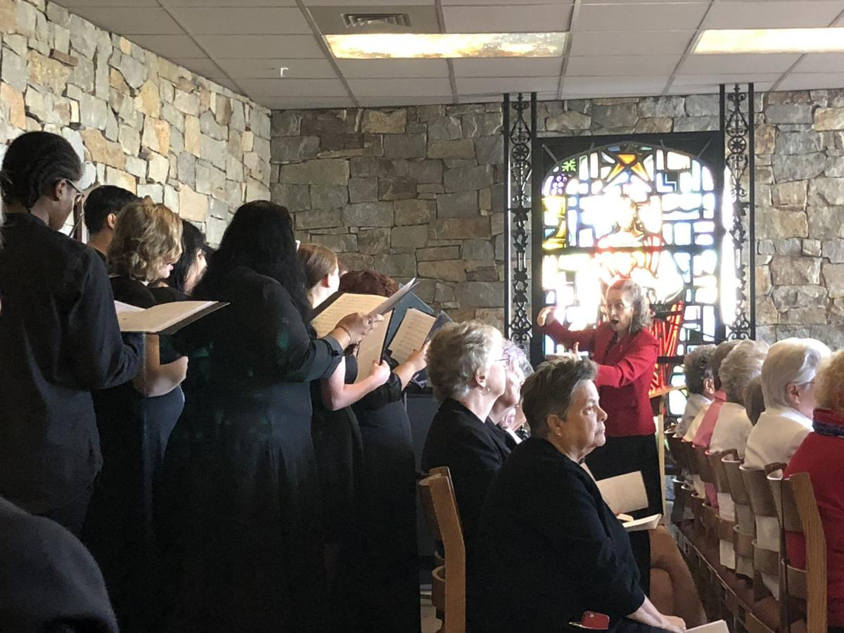 Directing the choir