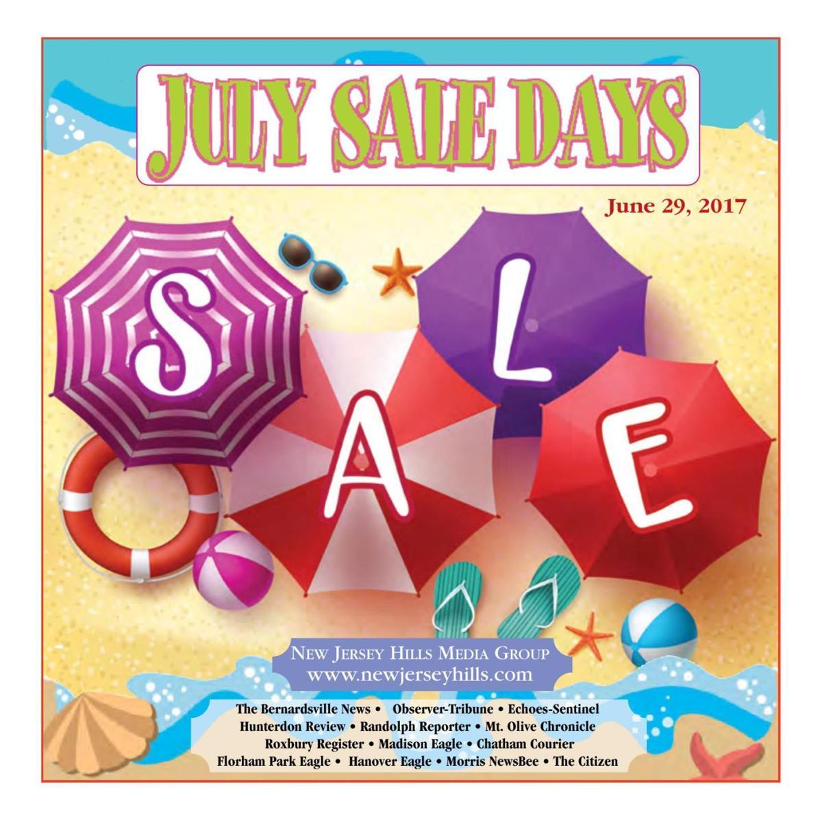 July Sale Days - June 29, 2017