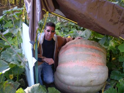 Kim Puig's growing them extra big in Mount Arlington!