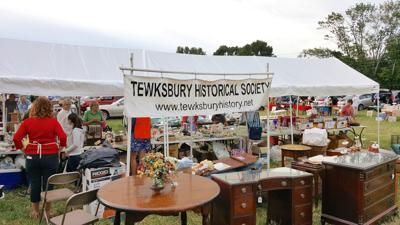 Tewksbury Historical Society will host 25th Flea Market on Saturday, Aug. 31