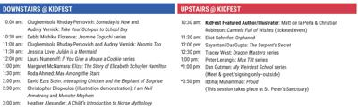 KidFest schedule