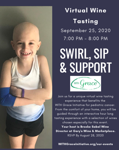 Virtual wine tasting to aid Long Hill student's cancer research initiative