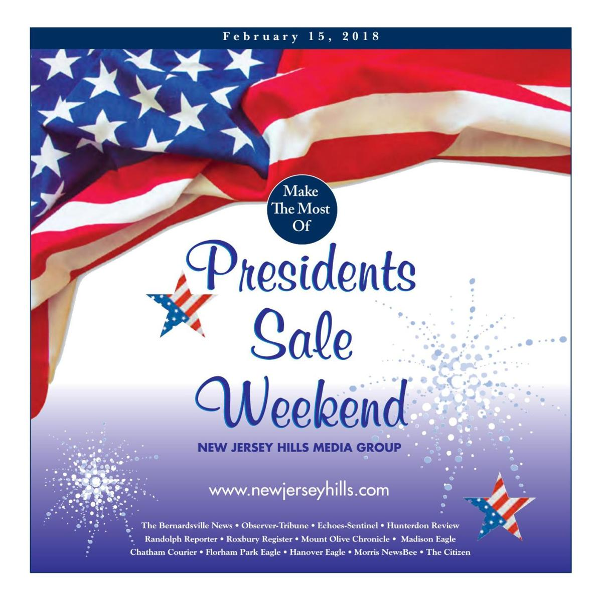 Presidents Sale Weekend - February 15, 2018