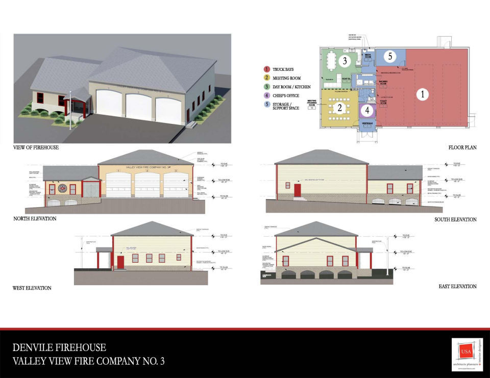 Valley View Firehouse rebuild