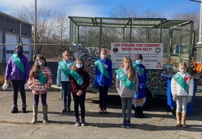 Long Hill Girl Scouts aid burn victims through can drive