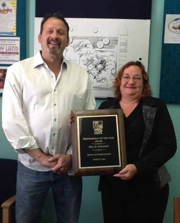 Mount Olive Parks and Rec Director honored