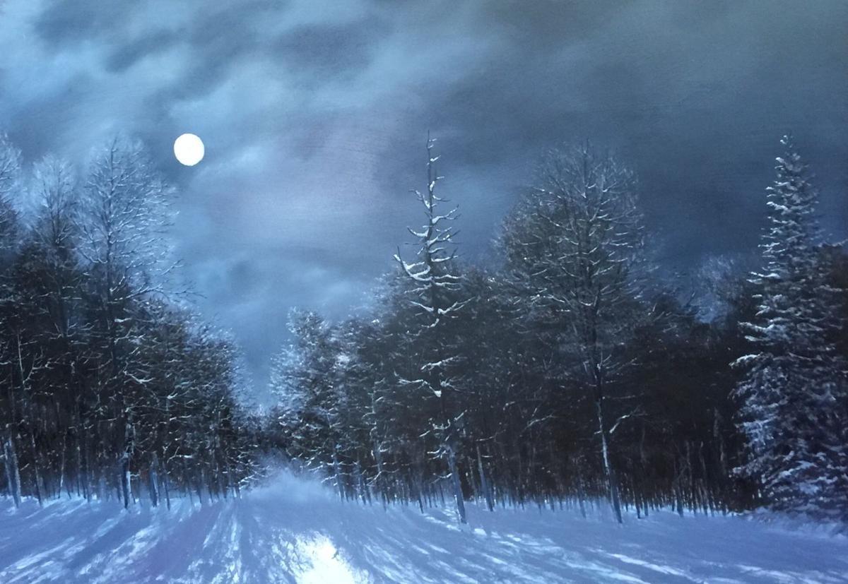 'Moonlight in Vermont' by Ken Ahlering