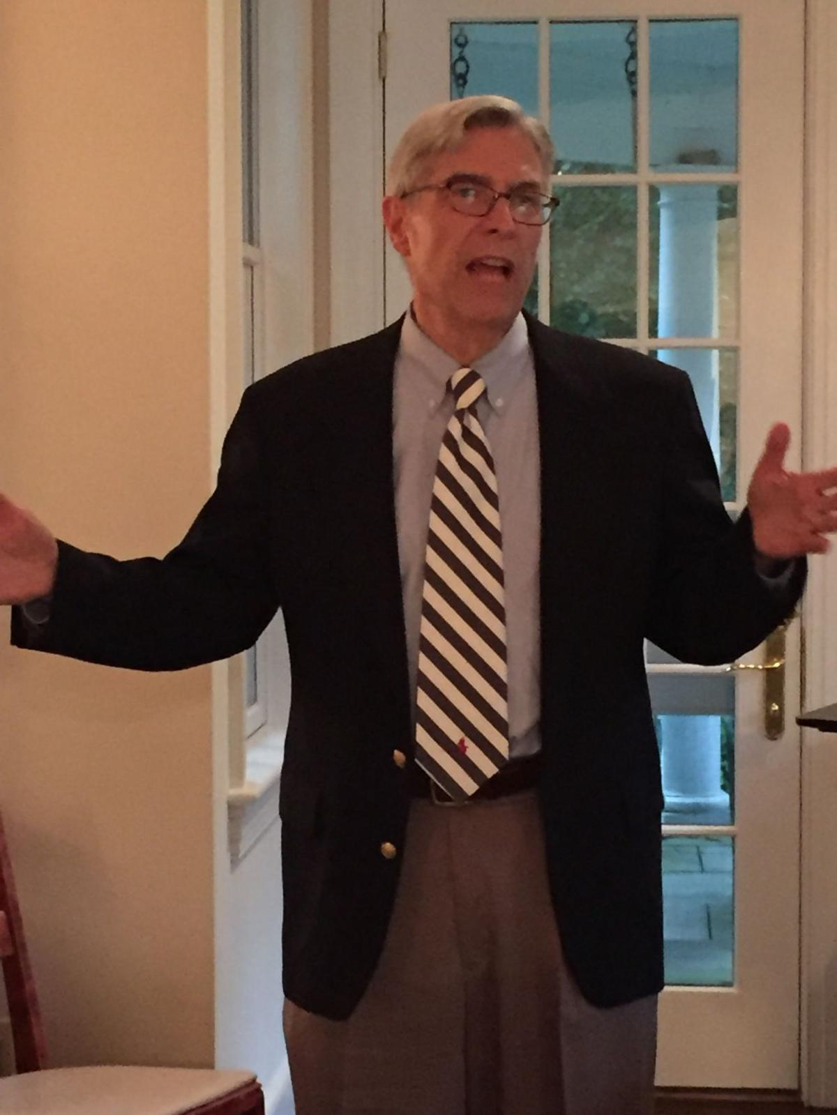 DEMOCRATIC ASSEMBLY CANDIDATE TOM MORAN