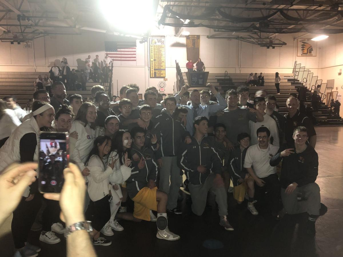 Watchung Hills wrestling champs