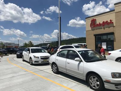 Chick-fil-A opens to massive lines in Watchung
