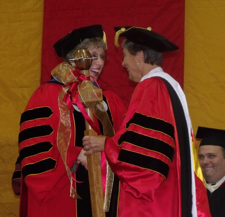 Caldwell College installs its first lay president