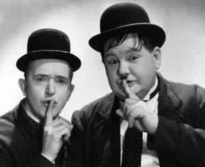 Laurel & Hardy library event topic