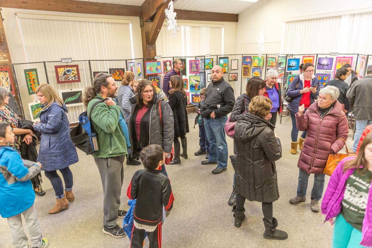 Children's Art Exhibit at the EEC