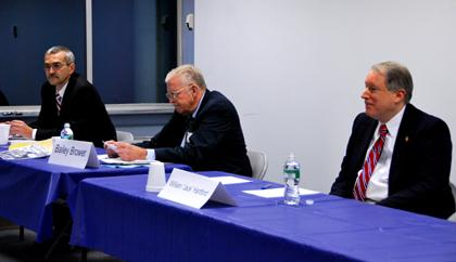 Brower, Hartford, O'Connor: debate highlights candidates' differences