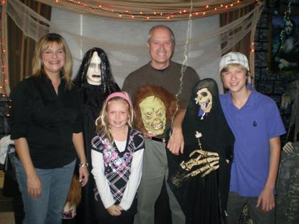 Haunting is serious business - and group effort - for Roxbury family