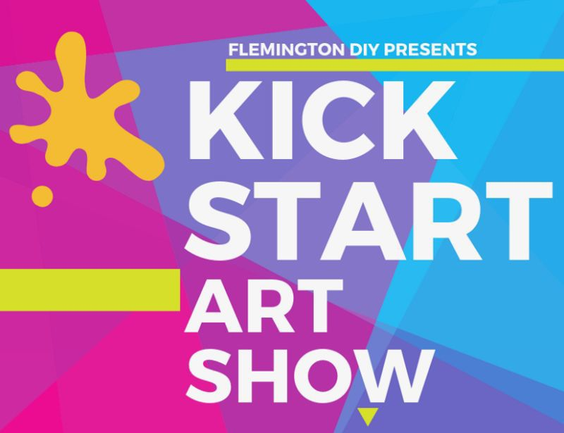 Flemington DIY to host Kick StART art showcase beginning on Friday, March 1