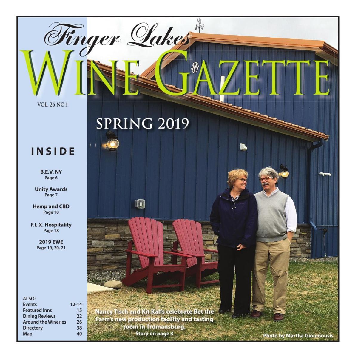 Finger Lakes Wine Gazette - Spring 2019