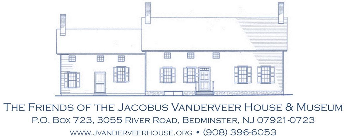 Friends of the Jacobus Vanderveer House logo