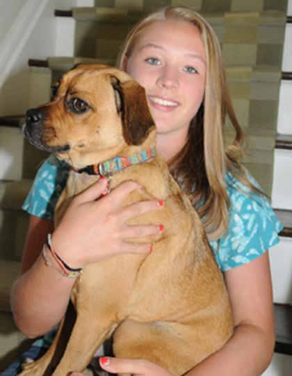 In three fund-raising events, Madison teen to take on puppy mills