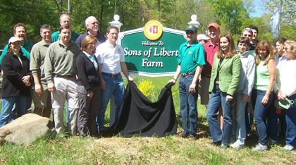 Spirit of Liberty Farm alive at Bernards Township's new park