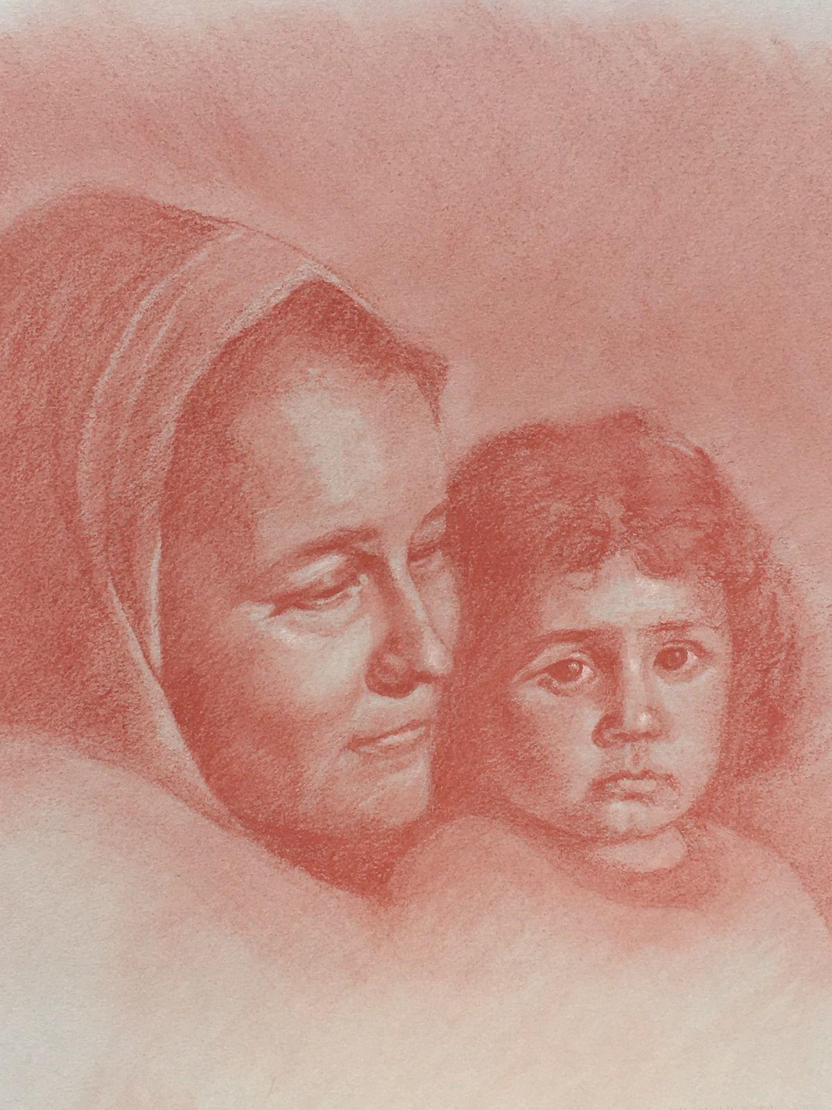 'Portrait Drawings' by Andrea K Schneider