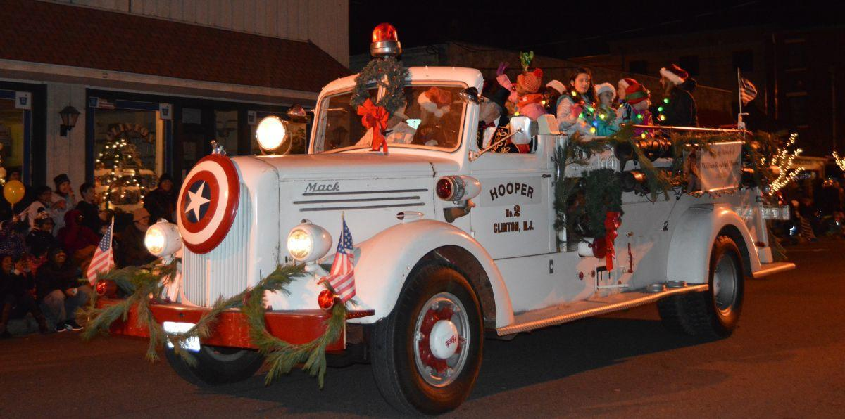 Clinton's Christmas Parade will step off on Friday, Dec. 7