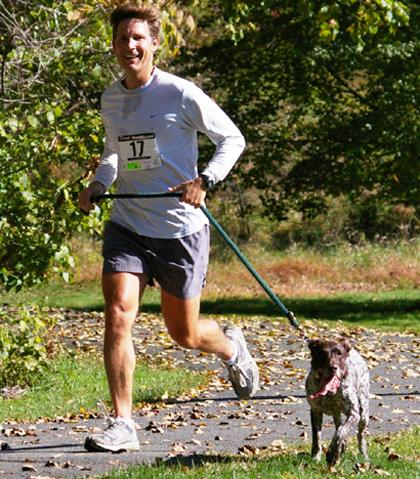More than 'walking the dog,' this race is a three-mile run